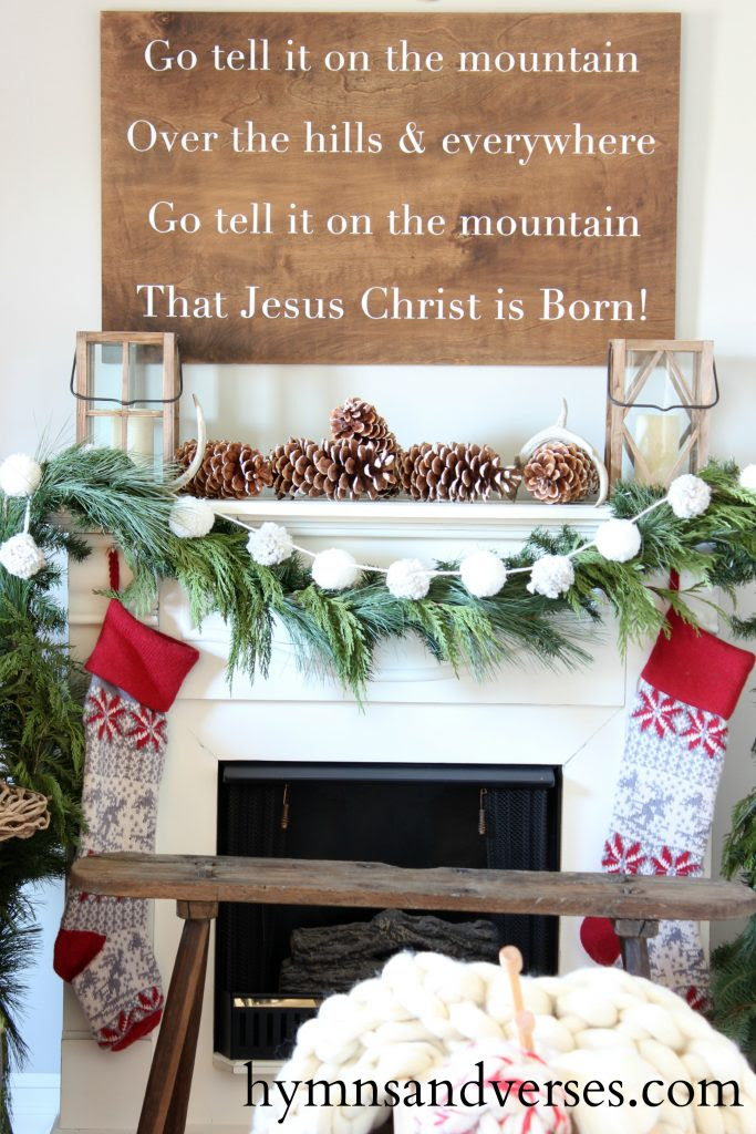 go-tell-it-on-the-mountain-mantel