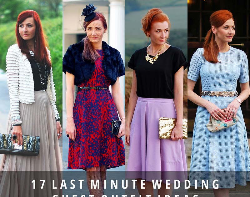 Last Minute Wedding Ideas: 17 Last Minute Wedding Guest Outfit Ideas (Without
