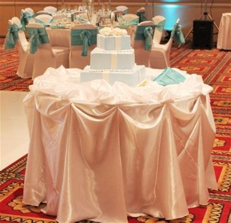 Chicago Cake Table Decoration : wedding black blue brown