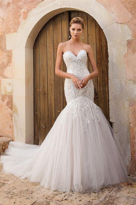 All the Glamour: Justin Alexander Wedding Dresses 2019