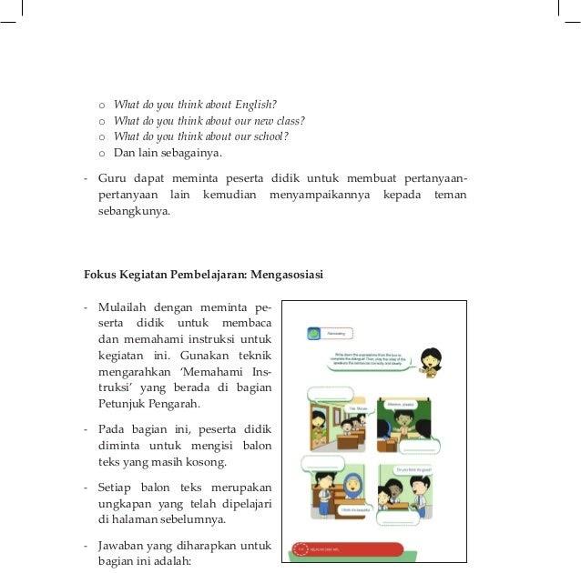 Kunci Jawaban Buku Bahasa Indonesia Revisi 2017