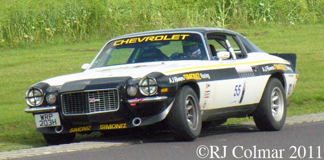 Chevrolet Camaro, Castle Combe, Tour Britannia