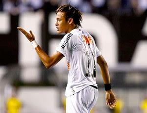 Neymar no jogo do Santos contra o Flamengo (Foto: Ricardo Saubin / Site Oficial do Santos)