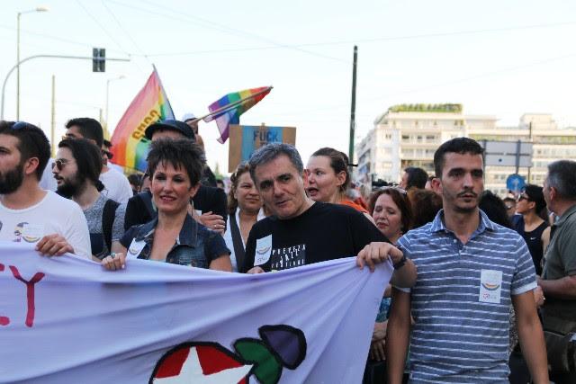 Tsakalotos gay parade 2017