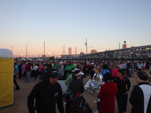 Start area of New Orleans half
