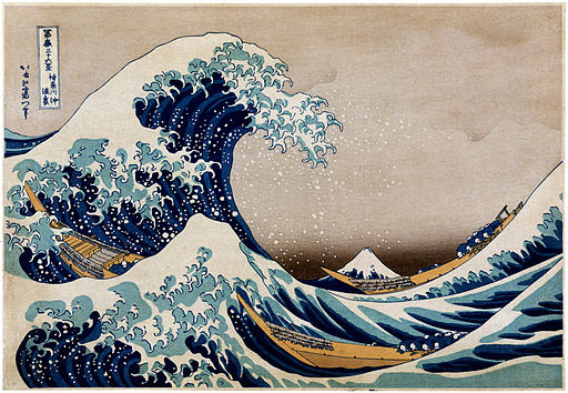 Flickr - …trialsanderrors - Hokusai, Under the great wave off Kanagawa, ca. 1832