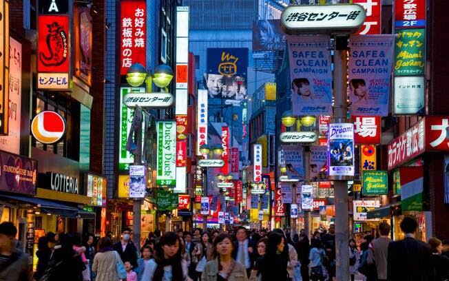4º. Japão: uma unidade da moeda brasileira equivale a 50 ienes. Foto: Getty Images