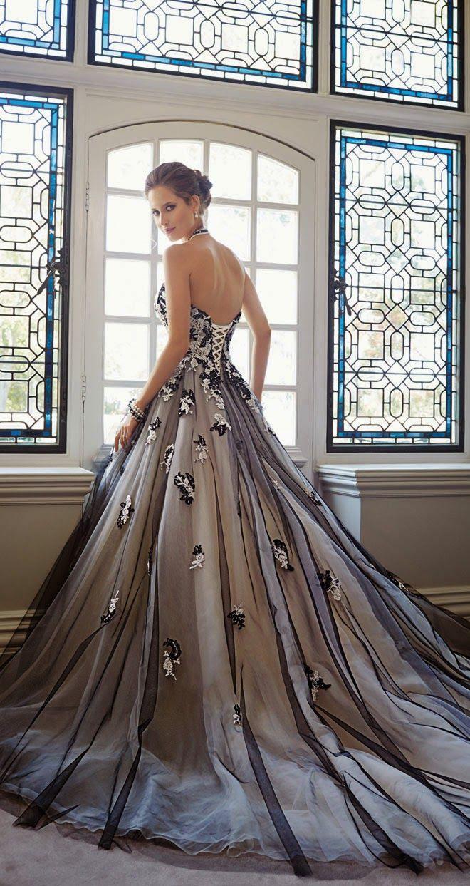 Marina Maitland Wedding Dress Black Wedding Dress Pinterest