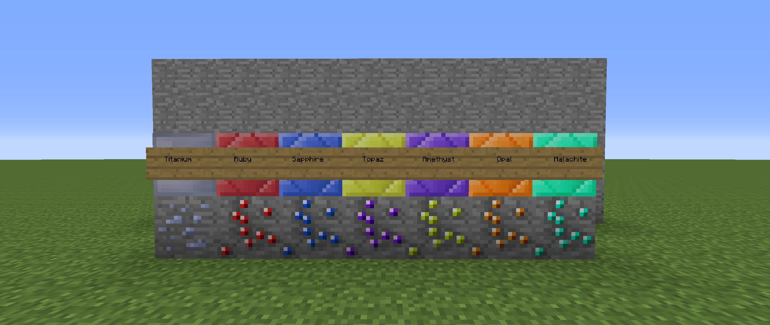 мод на руды в майнкрафт 1.7.10 #10