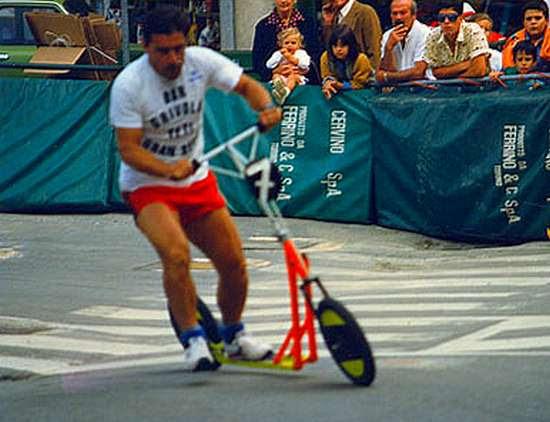 24 heures de trottinettes de Cervinia 1986