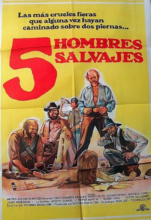 5 hombres salvajes
