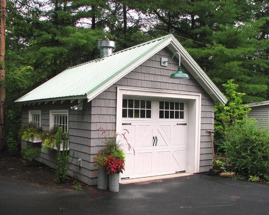 Detached One Car Garage Home Design Ideas, Pictures ...