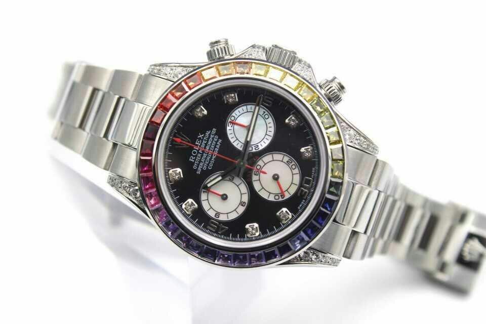 Replica Rolex Daytona Rainbow Watch