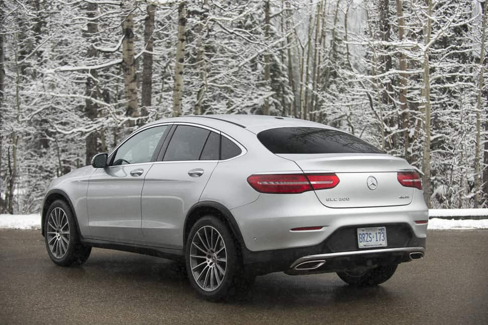 2017 Mercedes-Benz GLC 300 Coupe Review: SUV-Sports Car ...