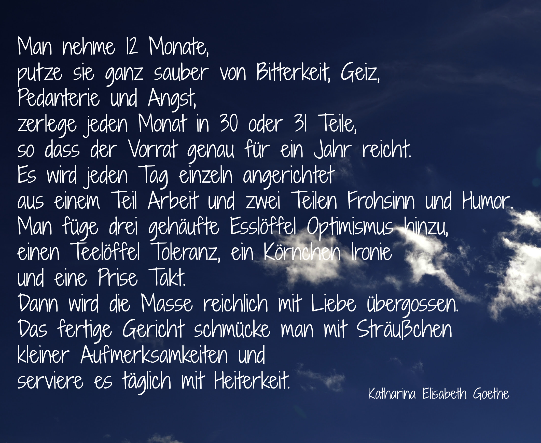 Goethe Zitate Neues Jahr Keltische Sprüche Weisheiten Zitate