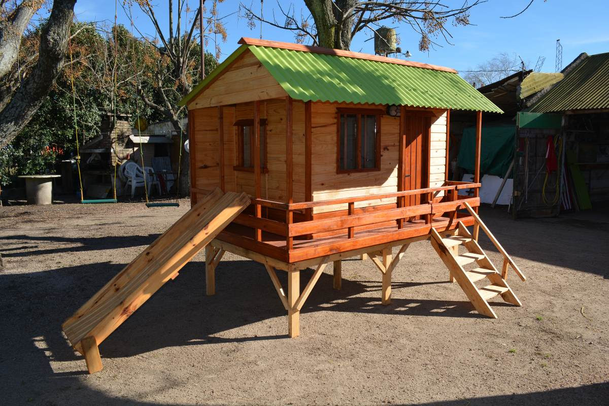 Casas de madera prefabricadas casas ninos madera for Casas madera ninos jardin