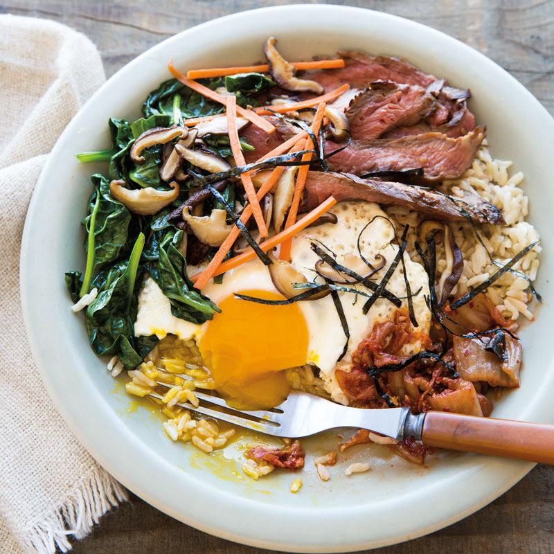 Beef Bibimbap Recipe With Brown Rice   Williams-Sonoma