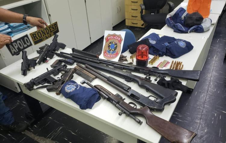 Materiais foram encontrados em uma residência no Jardim das Margaridas - Foto: Divulgação | SSP-BA