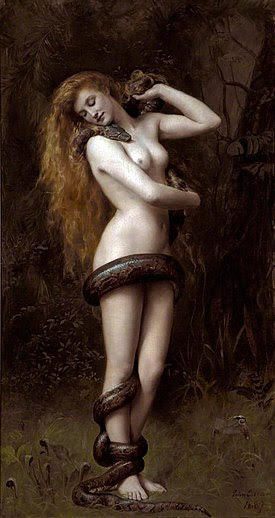 275px-Lilith_(John_Collier_painting)