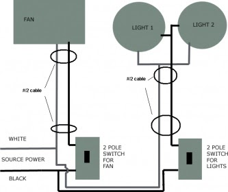 How To Wire A Bathroom Fan And Light Bath Fans
