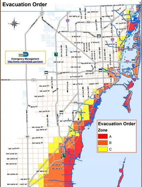 miami dade storm surge map - maps location catalog online