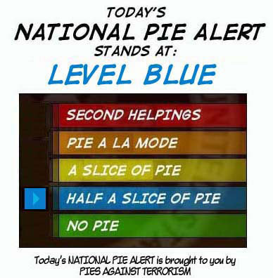 National Pie Alert