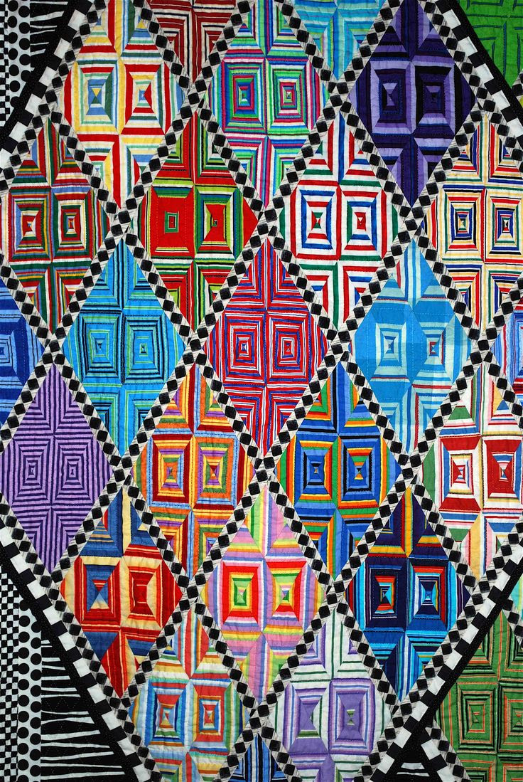 close up, Diamonds are a Girl's Best Friend by Jo Barry, photo by Sarah Fielke. 2010 Houston International quilt show. xxxx