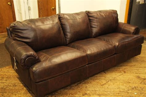 ashley brown leather sofa pittsburgh furniture outlet