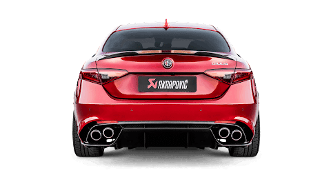 Alfa Romeo Giulia Exhaust Sound