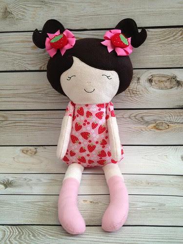 ITH dolly handmade with love by deanna