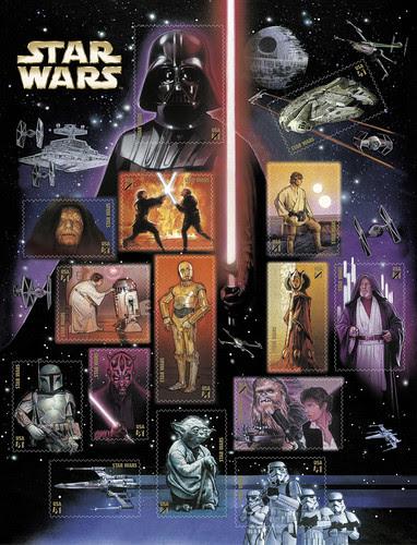 USPS Star Wars Stamps 2007
