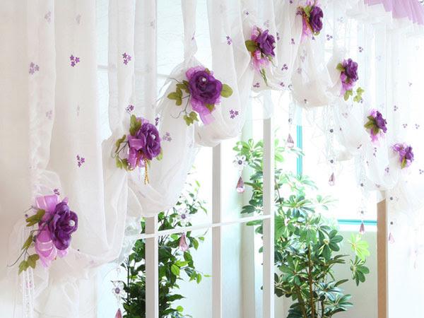 Романтични завеси