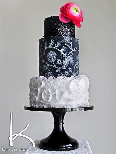 Kara's Couture Cakes Wafer & Painted Lace Tutorial  66%