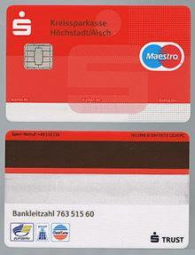 Cvv Ec Karte Sparkasse.Ec Karte Sperren Sparkasse Karte