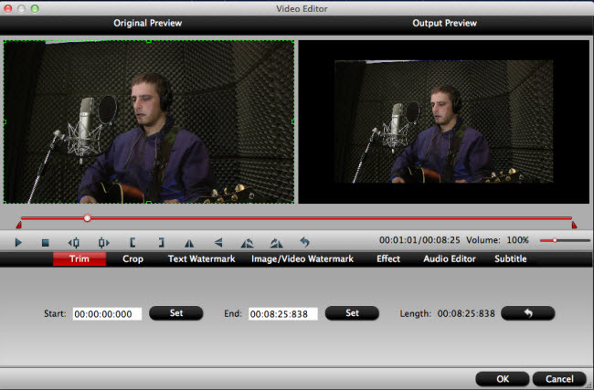 Edit Sony PXW-FS5 XAVC/AVCHD video