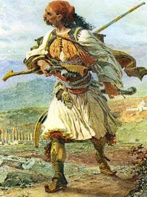 Αποτέλεσμα εικόνας για τσολιάς 1821