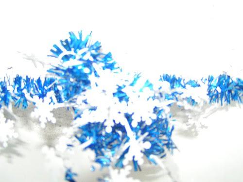 kami's tinsel christmas decoration