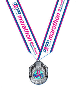 Donna breast cancer medal