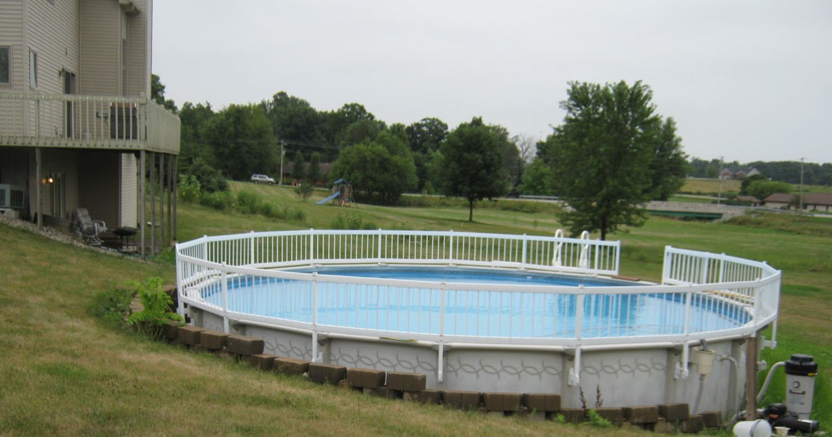 Nami how to build a shed on a deck for Above ground pool decks indianapolis