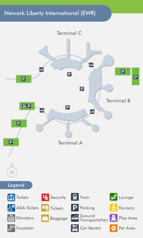 Newark Airport Terminal C Map Gadgets 2018