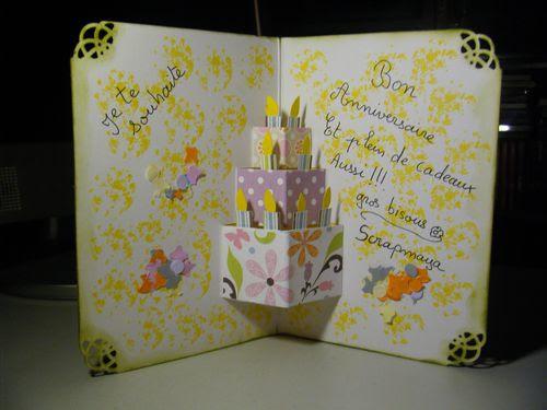 Carte Anniversaire Maison.Idee Carte Anniversaire Fait Maison Wizzyloremaria Blog
