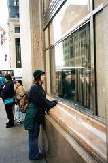 pretending to be audrey hepburn NYC 1997 by Nancy Dunne