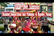 Resmi Jabat Kapolres Pinrang, Begini Suasana Penyambutan Kapolres Pinrang yang Baru