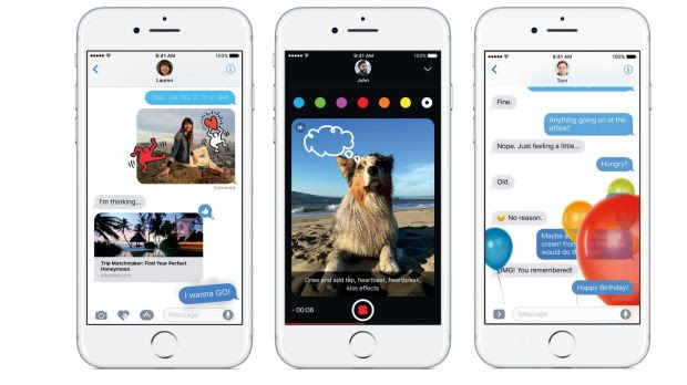 The Messages app has been given a big makeover in the new Apple update.