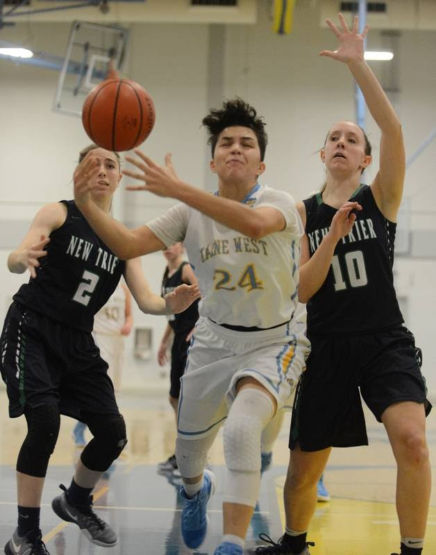 Images: Maine West vs. New Trier, girls basketball