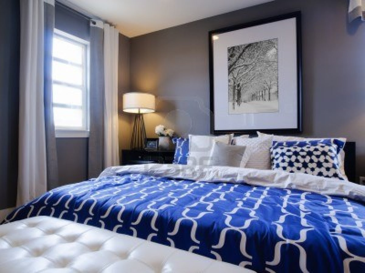 Navy Blue And White Bedroom Decor Home Design Ideas