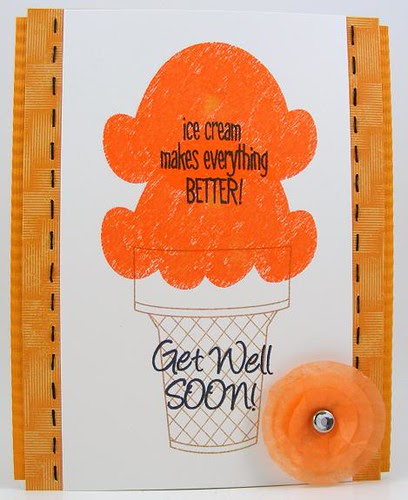 SOL May Ice Cream Get Well Card