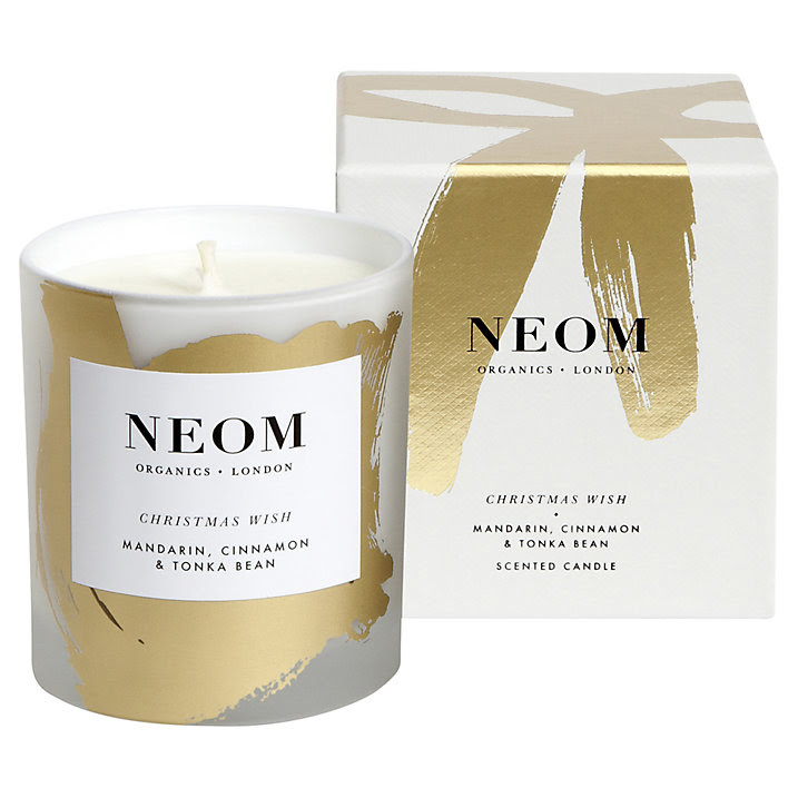 Buy Neom Christmas Wish Organic Scented Candle Online at johnlewis.com