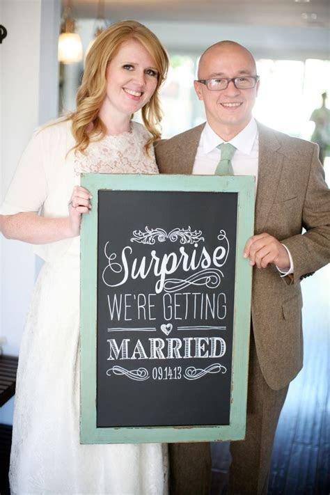 25  best ideas about Surprise wedding on Pinterest