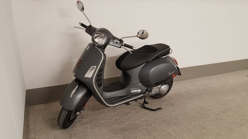Modern Vespa New To Forum With Gts 300 Super Sport 2017